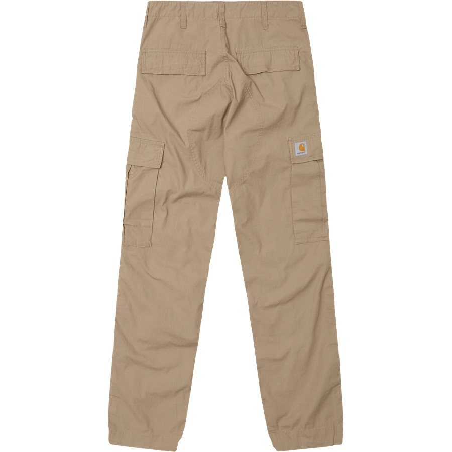 REGULAR CARGO PANT-I015875 - Cargo Pants - Bukser - Regular - LEATHER RINSED - 1